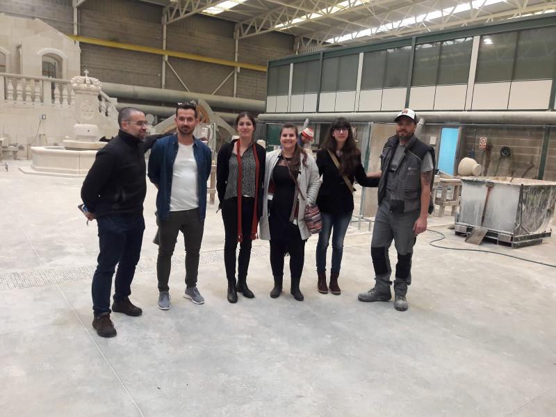 12-04-2019 Visita a Escola de alumnos de Erasmus albaneses