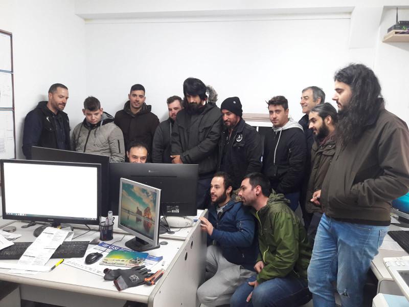 25-04-2019 Visita dos alumnos da Escola a Granitos PCM Lugo
