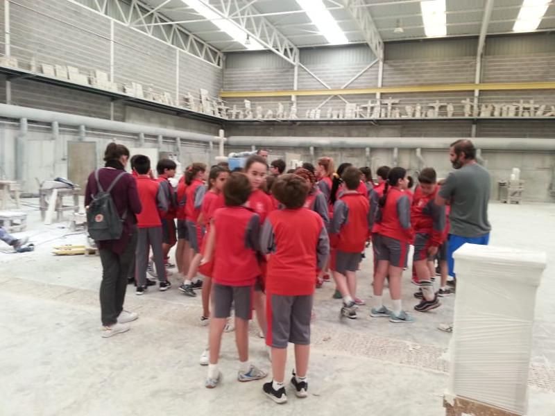 23-05-2019 Visita a Escola de alumnos do colexio San Jose-Pontevedra