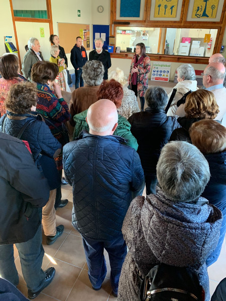 19-02-2020 Visita a Escola da Asociacion de Amigos dos museos